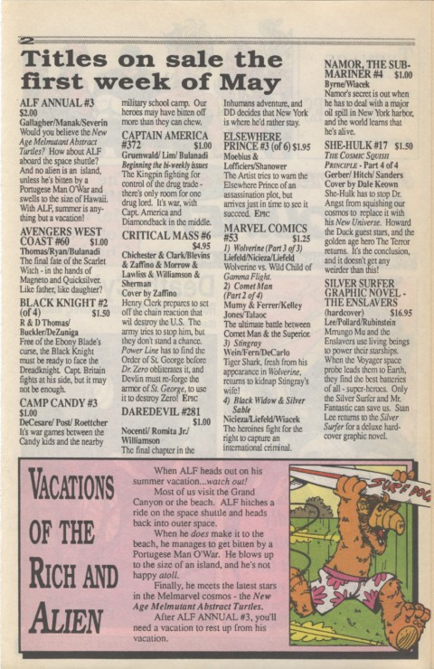 Marvel Requirer 3 May 1990 Page 2