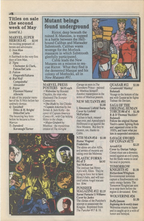 Marvel Requirer 3 May 1990 Page 4
