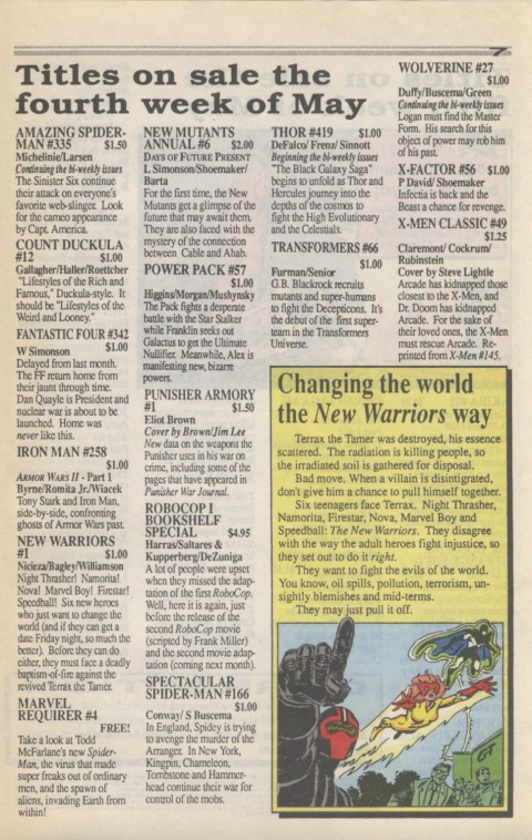 Marvel Requirer 3 May 1990 Page 7