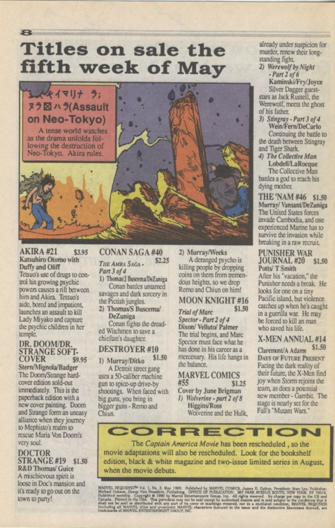 Marvel Requirer 3 May 1990 Page 8
