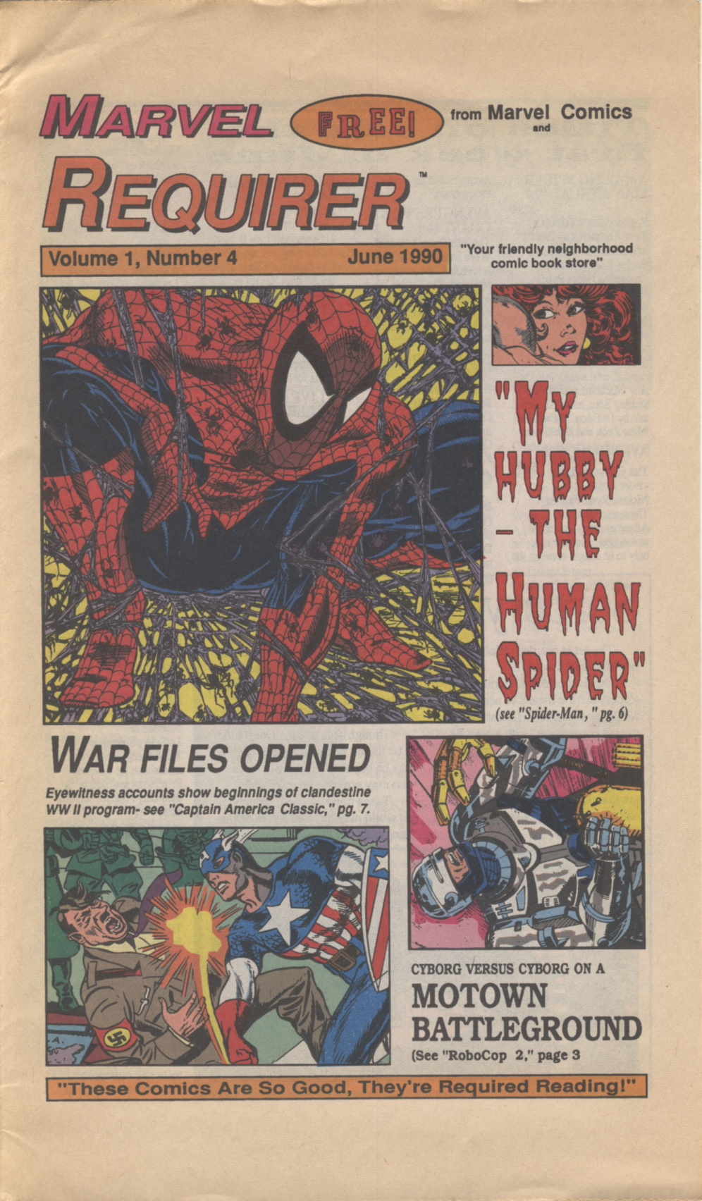 Time Capsule: Marvel Requirer 4, June 1990