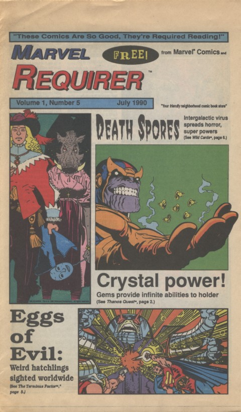 Marvel Requirer 5 July 1990 Page 1