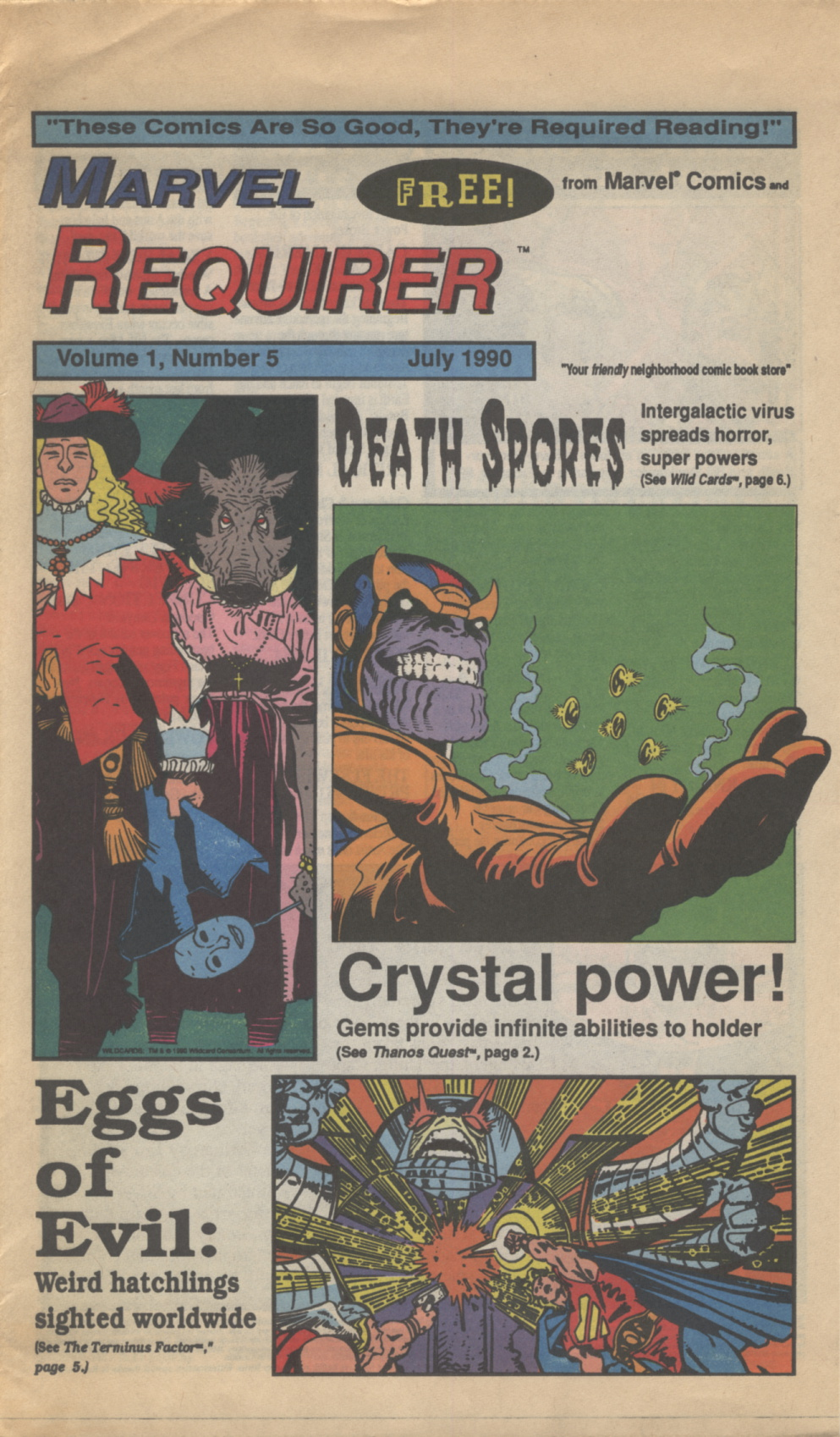 Time Capsule: Marvel Requirer 5, July 1990