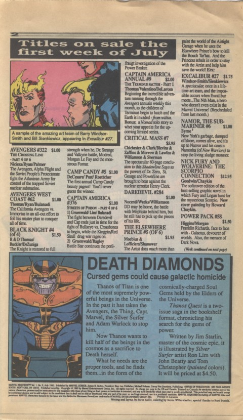 Marvel Requirer 5 July 1990 Page 2