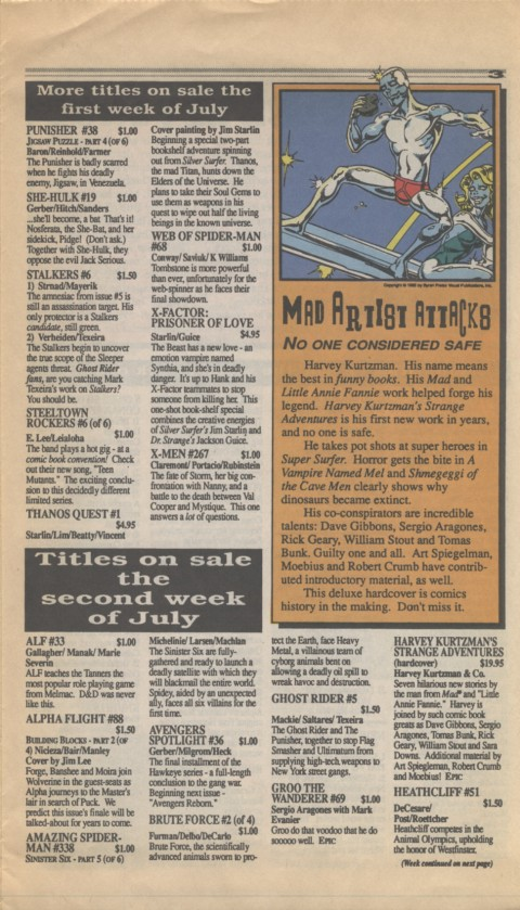 Marvel Requirer 5 July 1990 Page 3