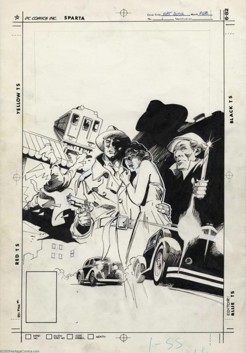Nathaniel Dusk Lovers Die at Dusk issue 1 cover by Gene Colan