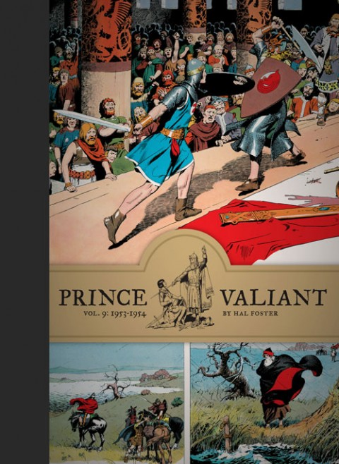 Prince Valiant Vol 9 1953-1954 cover