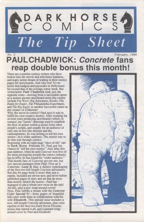 The Tip Sheet 2 February 1989 Page 1
