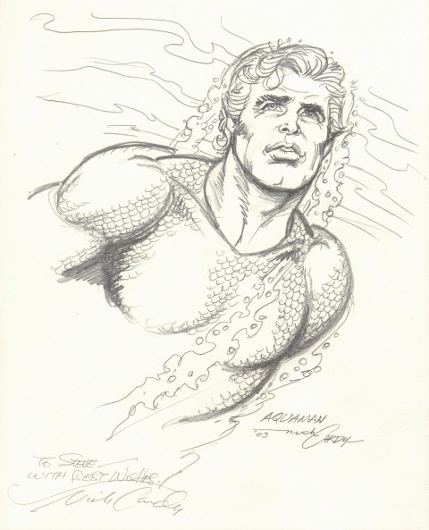 Aquaman by Nick Cardy.  Source.