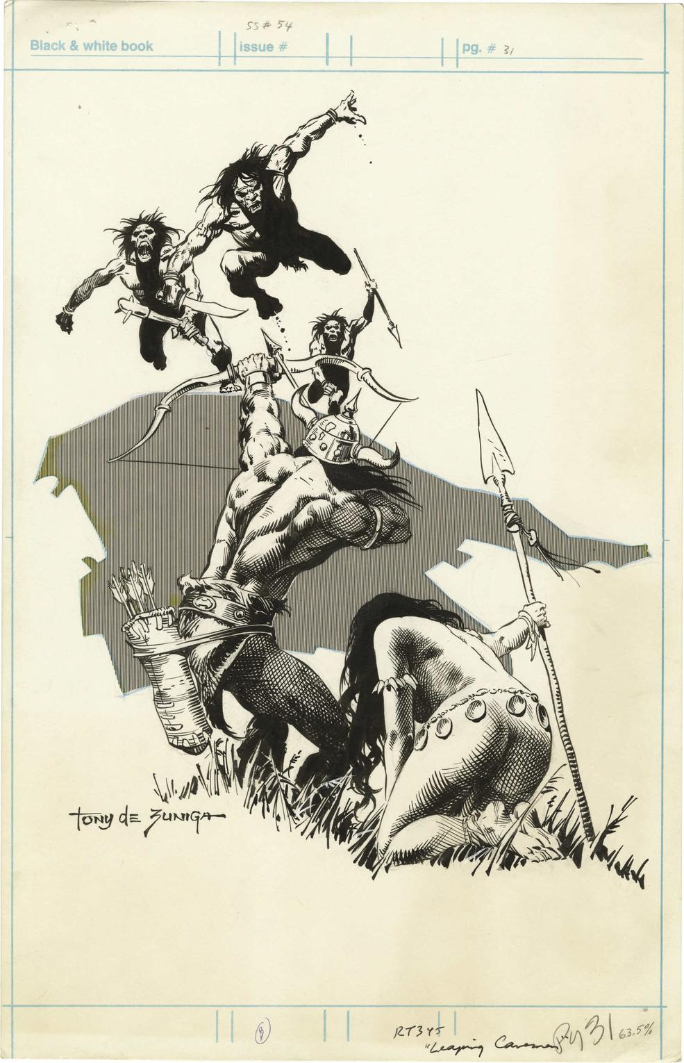 Underappreciated Inker and Artist Tony DeZuniga