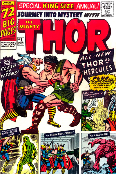 Marvel 1960s Annuals: Part Three, The Rest