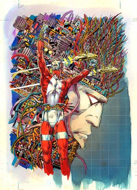 Machine Man tpb cover by Barry Windsor-Smith