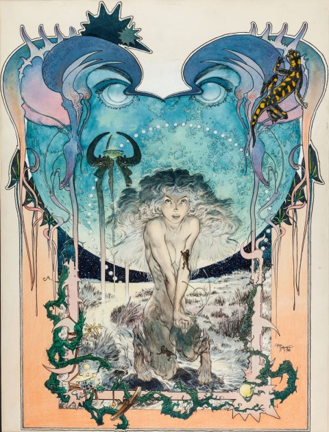 Stealer Of Souls by Michael Kaluta.  Source.