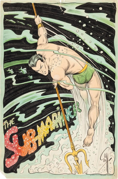 Sub-Mariner by Bill Everett.  Source.
