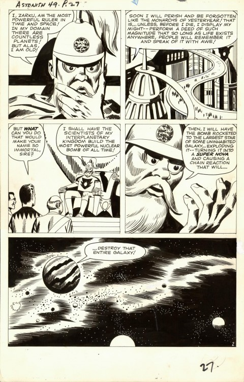 Tales To Astonish issue 49 page 2 by Larry Lieber and George Roussos.  Source.