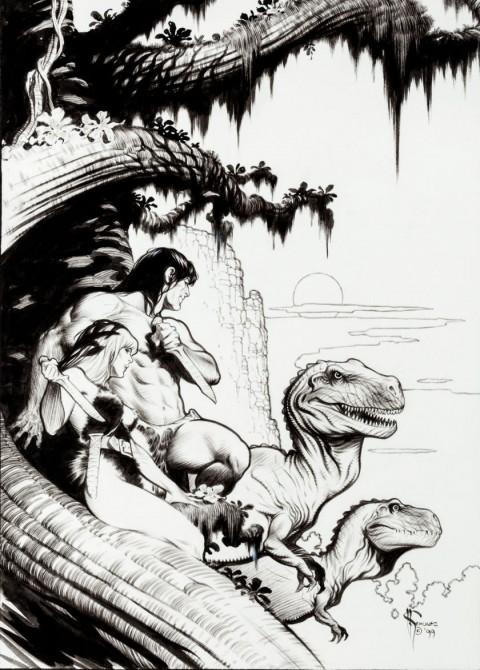 Tarzan The Untamed cover by Mark Schultz.  Source.