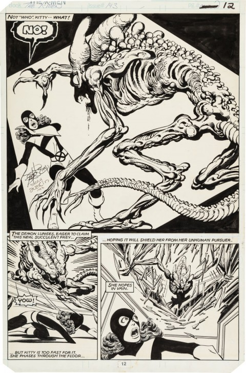 Uncanny X-Men issue 143 page 12 by John Byrne and Terry Austin.  Source.