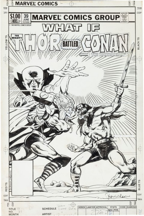 What If issue 39 cover by Ron Wilson and Mike Mignola.  Source.