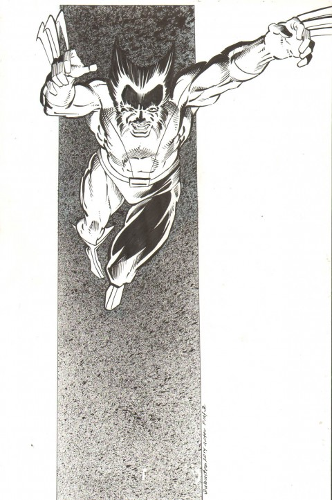 Wolverine by Joe Rubinstein.  Source.