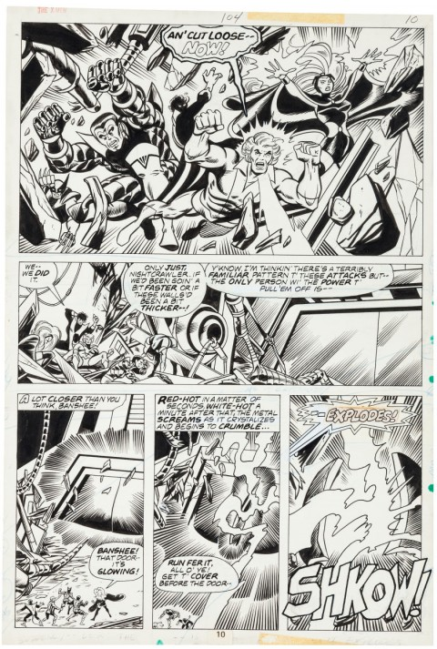 X-Men issue 104 page 10 by Dave Cockrum and Sam Grainger.  Source.