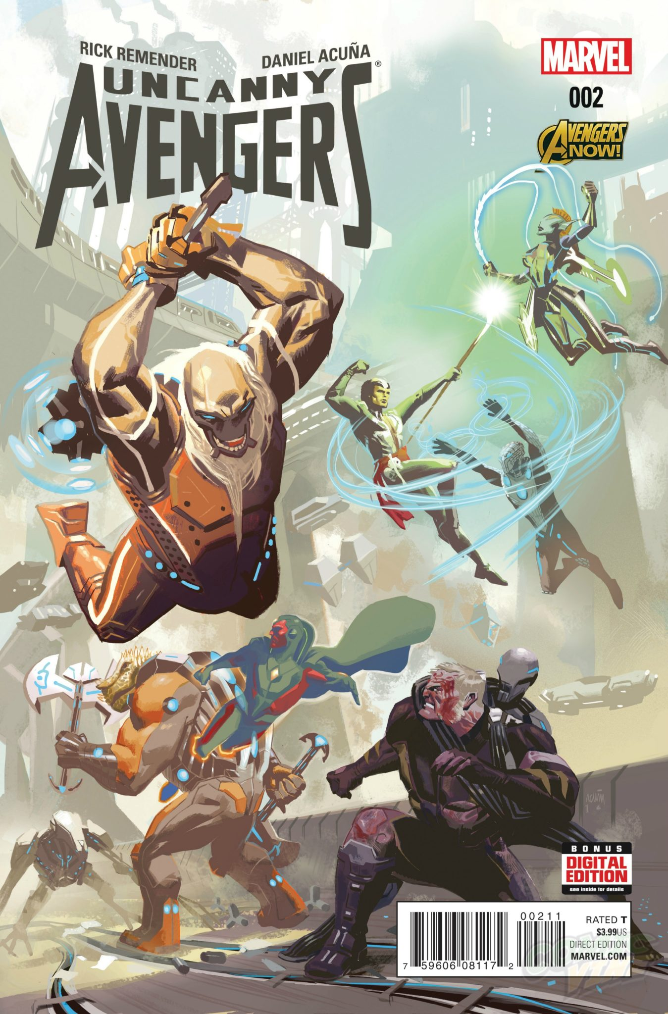 You Want 2nds? Uncanny Avengers #2