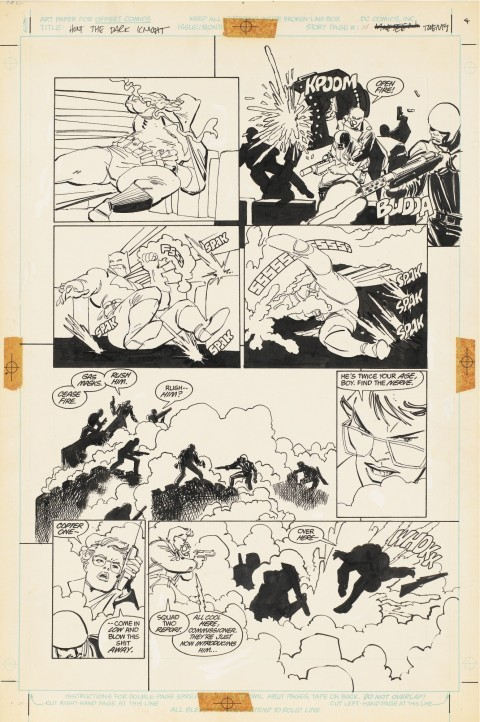 Batman The Dark Knight Returns issue 3 page 20 by Frank Miller and Klaus Janson