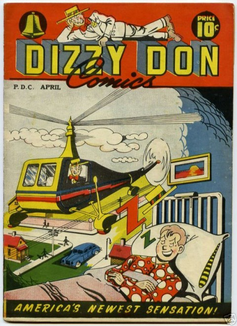 American Dizzy Don No. 3 from 1947 which reprints Dizzy Don No. 22.