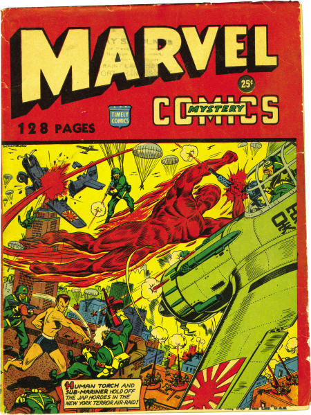 Timely's Marvel Mystery Giant done for distribution in Canada.