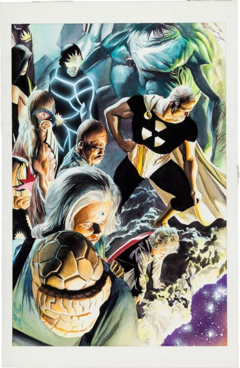 Paradise X issue 11 cover by Alex Ross.  Source.