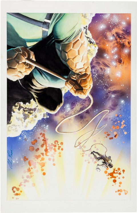 Paradise X issue 12 cover by Alex Ross.  Source.