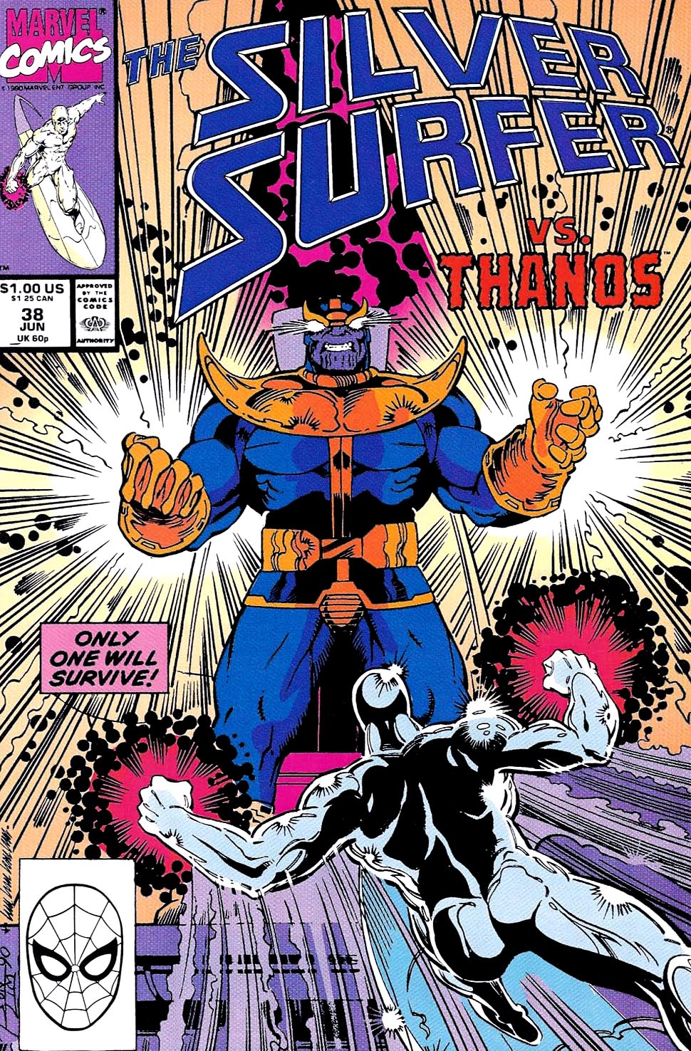 The Return Of Thanos: Silver Surfer 34-38