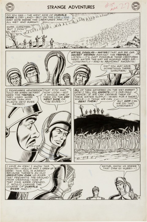 Strange Adventures issue 150 page 13 by Murphy Anderson.  Source.