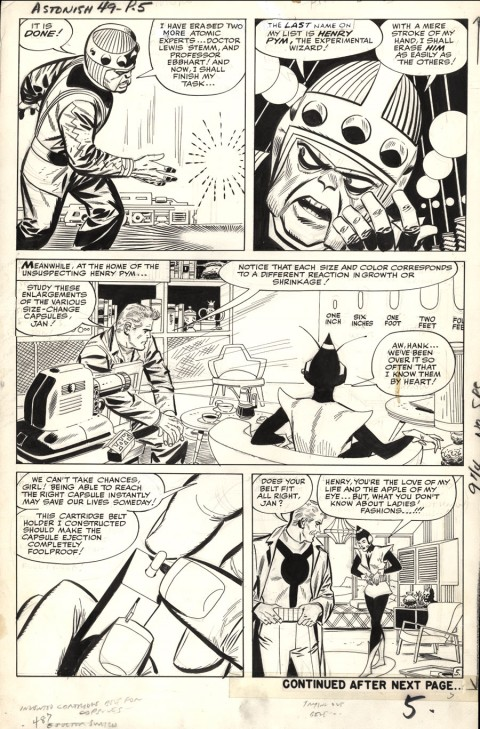 Tales To Astonish issue 49 page 5 by Jack Kirby and Don Heck