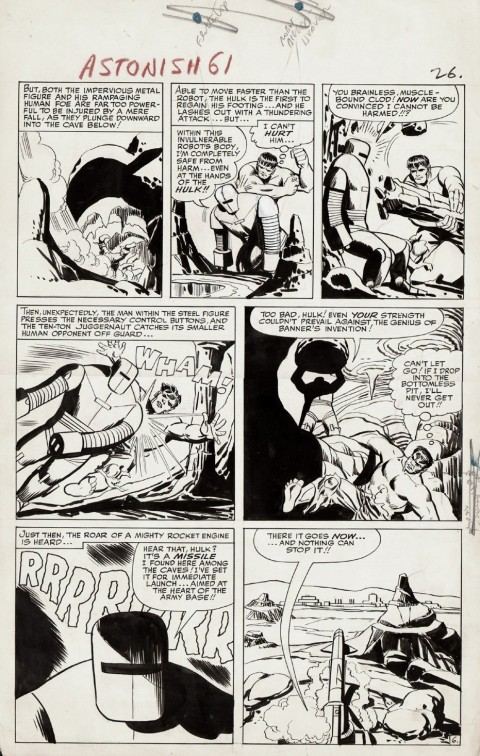 Tales To Astonish issue 61 page 6 by Steve Ditko and George Roussos