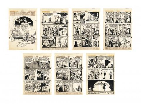 The Spirit 2-26-1950 by Will Eisner