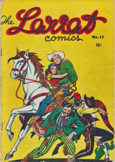 The Lariat No. 17 an example of a FECA American reprint with an altered cover.