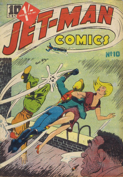 Jet-Man Comics No. 2 as on newsstands