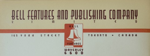 Bell Features Letterhead