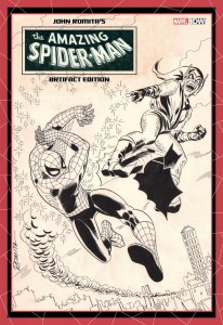 John Romita's The Amazing Spider-Man Artifact Edition variant cover
