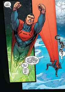 Although this man looks a heck of a lot like Superman, rest assured that he doesn't have all the same powers.