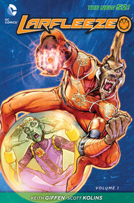 Larfleeze Vol 1 cover
