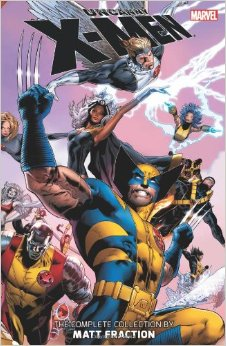 Uncanny X-Men The Complete Collection by Matt Fraction Vol 1 cover