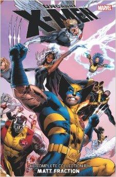 Uncanny X-Men The Complete Collection by Matt Fraction Vol 1 cover