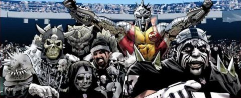 That awkward moment when even Colossus can't make being an Oakland Raiders fan cool…
