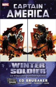 Captain America The Winter Soldier Ultimate Collection cover