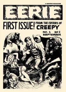 Eerie 001 - 01 front cover - Joe Orlando