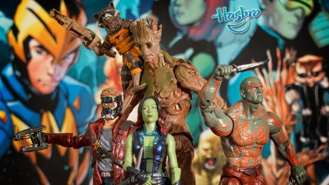 Lot of Guardians toys in the stores right now but you probably wont find any official Days of the Future Past merchandise... or any new Fantastic Four toys.