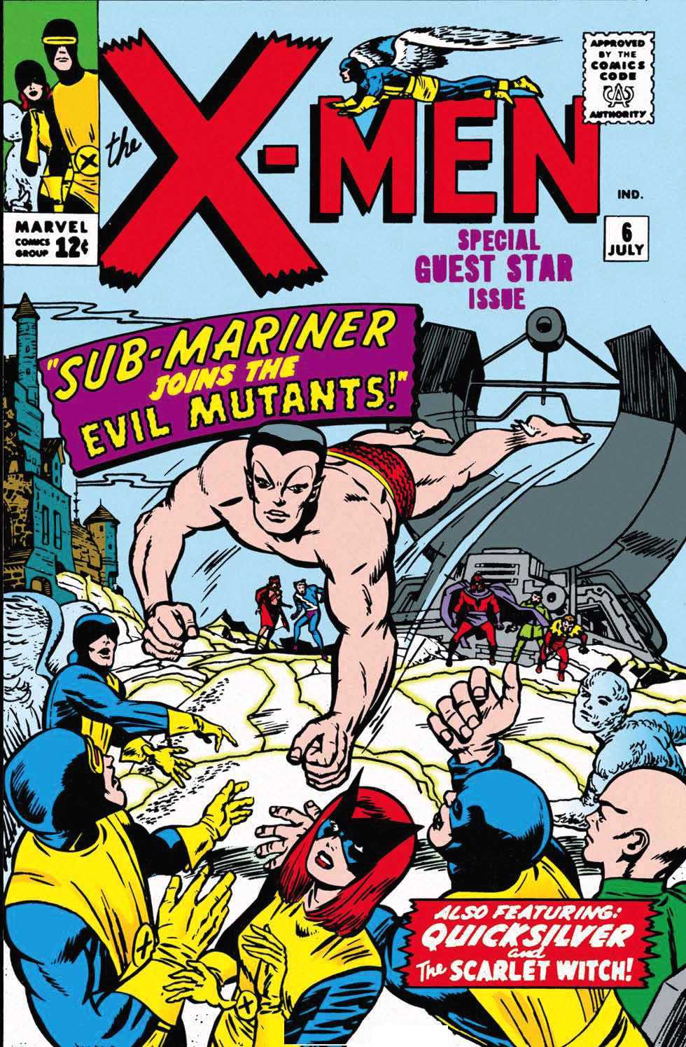 Meet the Brotherhood Of Evil Mutants: X-Men 4-7