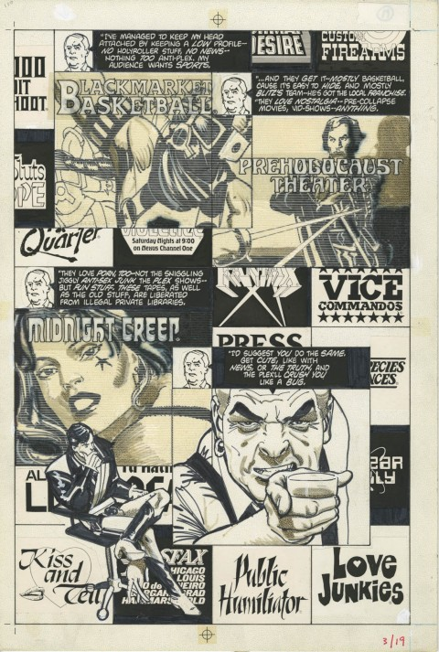 American Flagg! issue 3 page 19 by Howard Chaykin