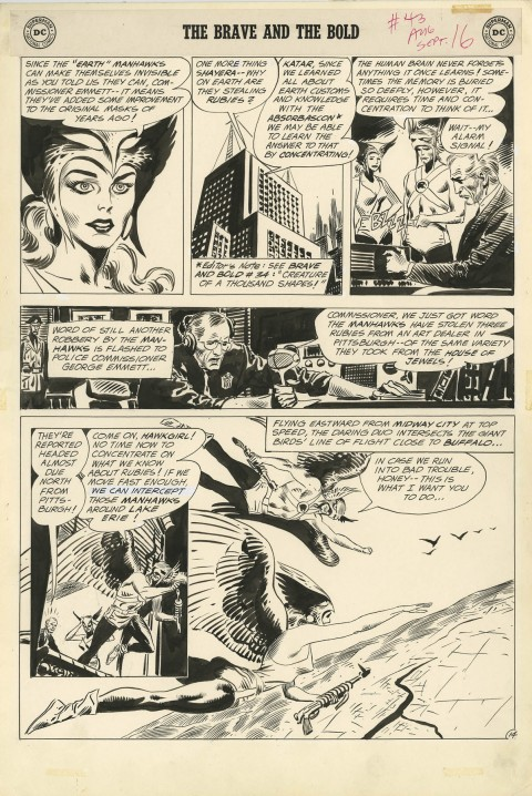Brave And The Bold issue 43 page 14 by Joe Kubert